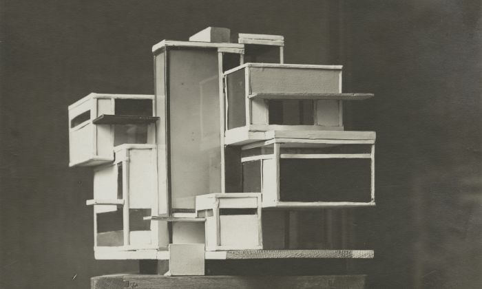Theo Van Doesburg, Model of Maison d'Artiste, 1923, Het Nieuwe Instituut Collection
